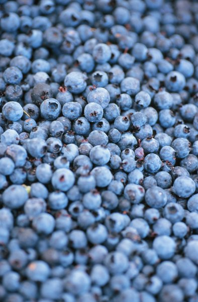 Blueberries have a high ORAC rating, a measurement of their antioxidants.