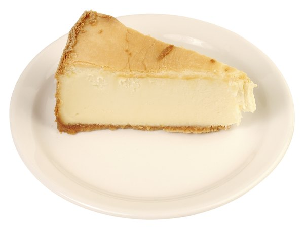 Cheesecake can contain up to 17 grams of added sugar per slice.