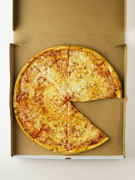 Cheese pizza provides a small dose of fiber.