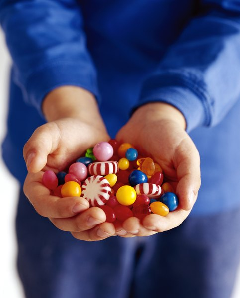 The sugar in candy is linked to increased triglyceride levels.