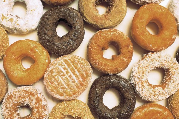 Donuts don't contain much in the way of fiber.