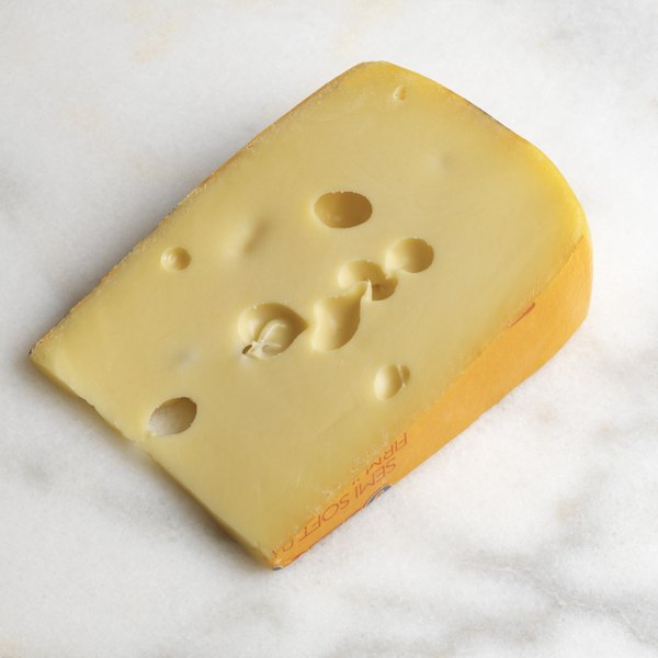 Natural Swiss cheese contains a small amount of sodium.