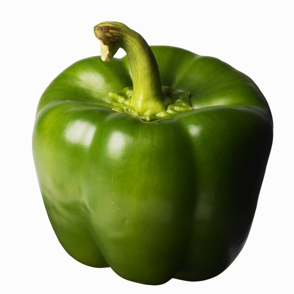 Green peppers contain only a small amount of protein.