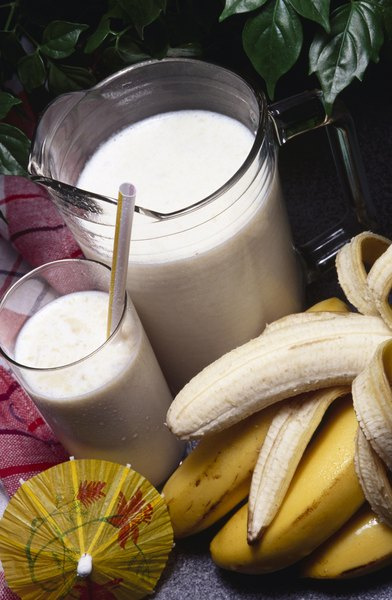 Protein powder can make a smoothie more nutritious.