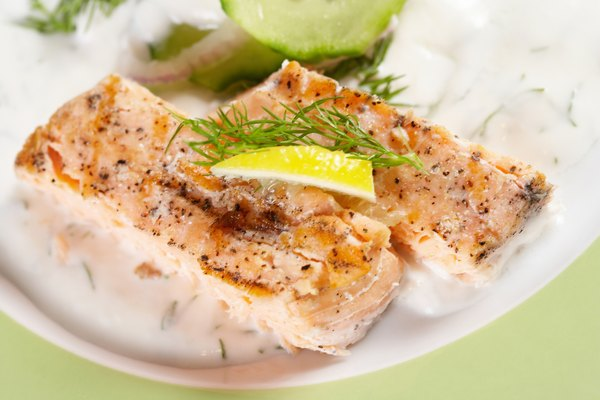 Increase your protein intake with heart-healthy salmon.
