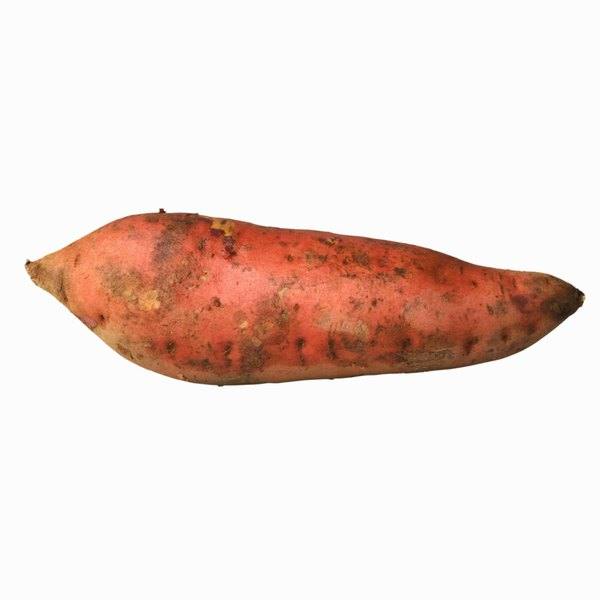 Sweet potatoes are low in lysine.
