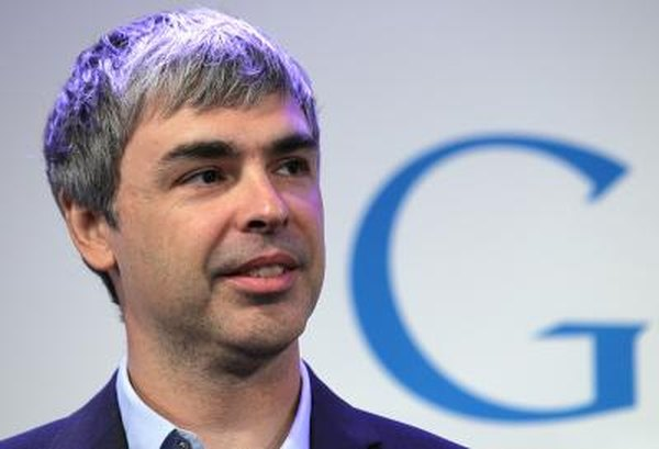 Larry Page (pictured) and Sergie Brin founded Google in 1998.