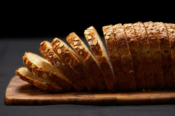 Most bread contains about 1 gram of fat per slice.