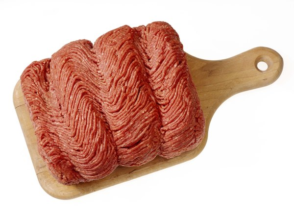 Each serving of ground beef fulfills the RDA of vitamin B-12 for adults.