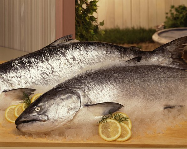 Salmon are selenium--rich fish.