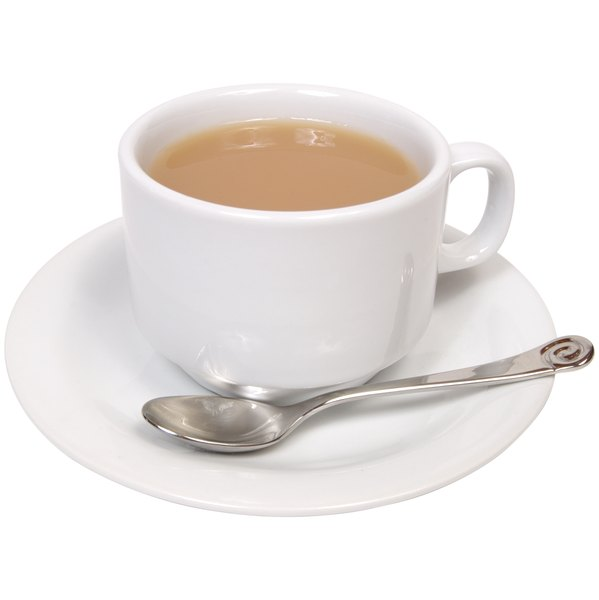 Putting milk in tea may cancel out its antioxidant benefits.