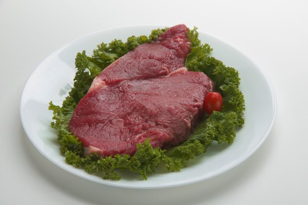 Beef sirloin steak provides about 280 milligrams of potassium per serving.