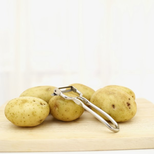 Leave a potatoes peel intact for more dietary fiber.