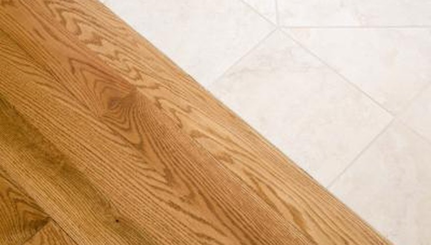 How To Install Tile Match Wood Floor