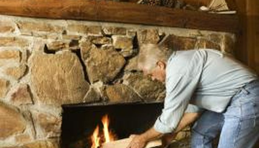 How To Reface A Stone Fireplace, How To Reface A Fireplace With Stone