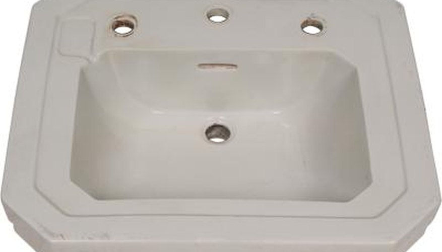 How To Make The Hole Wider In A Porcelain Sink Home Guides Sf Gate