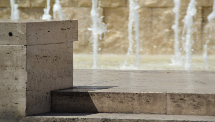 How To Paint Outside Cement Fountains Home Guides Sf Gate